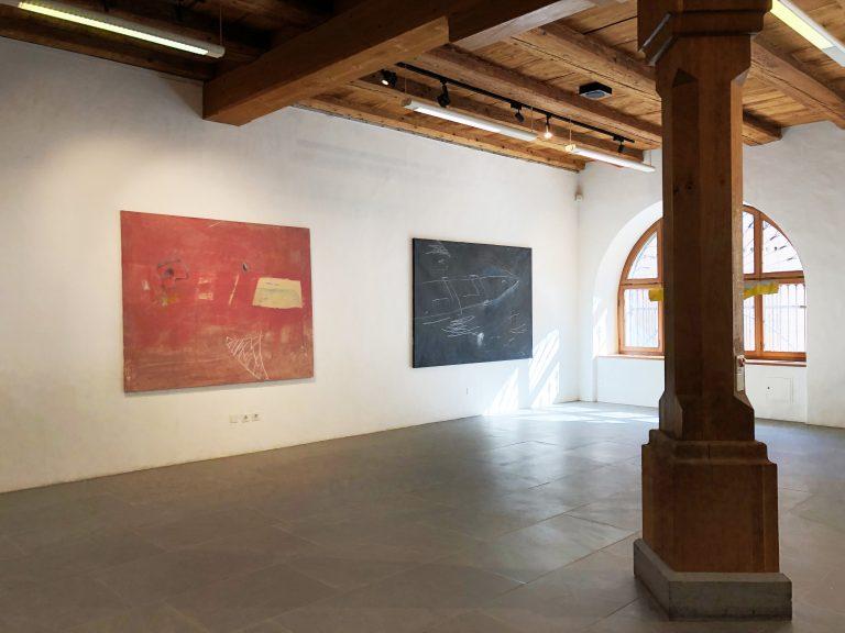 Ausstellung_Erinnerung an Afrika 1992_ Raum Fisch 1992